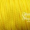 เชือกถัก P.P. #5 สีเหลือง (10เมตร)