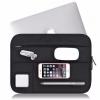 """กระเป๋า Apple Macbook รุ่น Air, Pro Retina 13"""" Laptop Sleeve Case Bag Black (สีดำ)"""