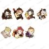 TV Anime Bungo Stray Dogs - PitaColle Rubber Strap BLACK 8Pack BOX(Pre-order)