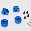 ALLOY HEX ADAPTER (14MMX9MM)-4PCS SET - AX010/14X9MM