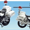 1/12 Complete Motorcycle Model CB1300P (White Motorcycle) Kanagawa Police(Released)