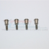 STAINLESS STEEL KINGPINS FOR FRONT C HUBS - 4PC SET