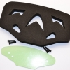 REAR URETHANE FOAM BUMPER WITH FIBRE PLATE - 1SET