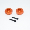 YETI XL ALUMINIUM HEX ADAPTER (+1MM THICKNESS) - 2PCS SET