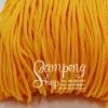 เชือกร่ม P.P. #10 สีเหลืองทอง (10เมตร)