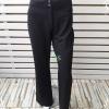 BNB1498-กางเกงผ้า สีดำSPORSTAFF Made in ITALY เอวนิ้ว