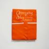 ผ้ากันเปื้อน สีส้ม