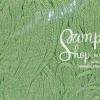 เชือกร่ม สีเขียวสังขยาดิ้นเงิน
