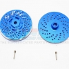 ALUMINIUM WHEEL HEX CLAW WITH BRAKE DISK - 2PCS SET