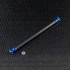 TT02 GRAPHITE MAIN SHAFT WITH ALLOY ENDS - GTT2025