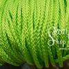 เชือกถัก P.P. #5 สีเขียวสะท้อน (10เมตร)