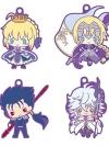 Rubber Mascot - Fate/Grand Order Design produced by Sanrio 8Pack BOX(Pre-order)
