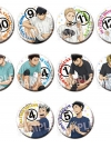 Haikyuu!! - Trading Can Badge (Junbi) 10Pack BOX(Pre-order)