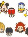 Kingdom Hearts - Nokkari Rubber Clip 8Pack BOX(Pre-order)