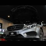 ผลงานการติดตั้งท่อไอเสีย และการจูนเพิ่มแรงม้า Mercedes-Benz E300 Bluetec Hybrid