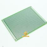 แผ่นปริ๊นอเนกประสงค์ ไข่ปลา สีเขียว คุณภาพดี Prototype PCB Board 5x7 cm