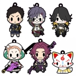 D4 Touken Ranbu Online - Rubber Strap Collection Vol.6 6Pack BOX(Pre-order)