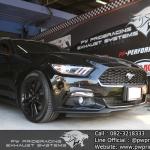 ผลงานติดตั้งท่อไอเสีย Ford Mustang Ecoboost by PW PrideRacing