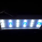 โคมพาด LED สีขาว*AL-260P* ตู้ 30-35cm
