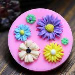 พิมพ์ฟองดอง 3D รวมดอกไม้