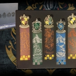 Harry Potter Crest Bookmark Set