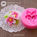พิมพ์ฟองดอง พิมพ์วุ้น 3D ลายดอกดอกแก้ว