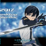 Tabletop Sword Art Online the Movie 2017 Calendar(Pre-order)