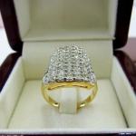 แหวนเพชรแท้ มือสอง(พร้อมส่ง)