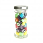 Tall Jar of Colorful Kisses (50g. jar)