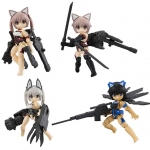 Desktop Army - Frame Arms Girl KT-322f Innocentia Series 4Pack BOX(Pre-order)