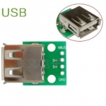 USB Female to Dip 2.54mm 4p