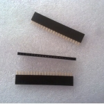 1X20 Pin 20P Single Row Female Header 2.54mm pitch straight จำนวน 1 ชิ้น