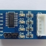 ULN2003 five line four phase stepper motor driver module driver board