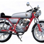 1/12 NAKED BIKE No.37 Honda Dream 50 Custom Plastic Model(Back-order)