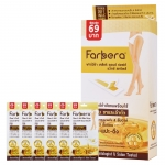 Farbera Clear & Soft Wax Strips (Legs & Body) 4 แผ่น x 6 ซอง
