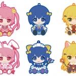 Pulish Nurse Witch Komugi-chan R - Trading Rubber Strap 6Pack BOX(Pre-order)