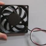 พัดลมระบายความร้อน 3สาย 7cm*7cm 12V