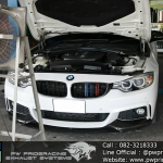 ผลงานติดตั้ง Downpipe BMW 420D F32 Diesel Engine @PW PrideRacing