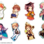 """Hetalia Axis Powers"" Trading Acrylic Keychain Vol.2 8Pack BOX(Pre-order)"