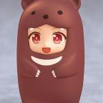 Nendoroid More - Kigurumi Face Parts Case (Brown Bear)(Pre-order)