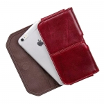 GT-8088R ซองหนังแท้ iPhone 6 Plus สีแดง