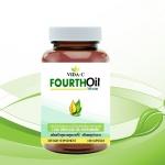 FOURTH OIL น้ำมันสกัดเย็น4ชนิด ซอฟเจลจากพืช