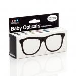 Mustachifier Black UV Glasses Age 0-2 แว่นเนิร์ดเด็กสีดำ