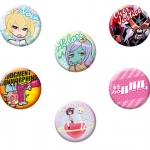 Uchuu Patrol Luluco - Trading Can Badge 10Pack BOX(Pre-order)