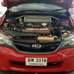 ชุดท่อไอเสียSubaru Impreza Custom-made with Akrapovic Tips