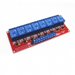 Relay Module 12V 8 Channel isolation High And Low Trigger 250V/10A
