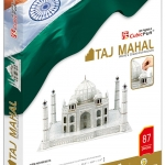 3D Puzzle Cubic Fun Taj Mahal
