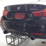 BMW F32 420d ปลายท่อคู่ Akrapovic