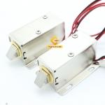 กลอนไฟฟ้า กลอนลิ้นชักไฟฟ้า 24V DC Set2