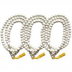 AgarHarvest สร้อยคอ ไม้หอม ไม้กฤษณา แท้ 108 เม็ด Pure Fragrance Agarwood Necklace 108 beads 3 เส้น (12 mm)